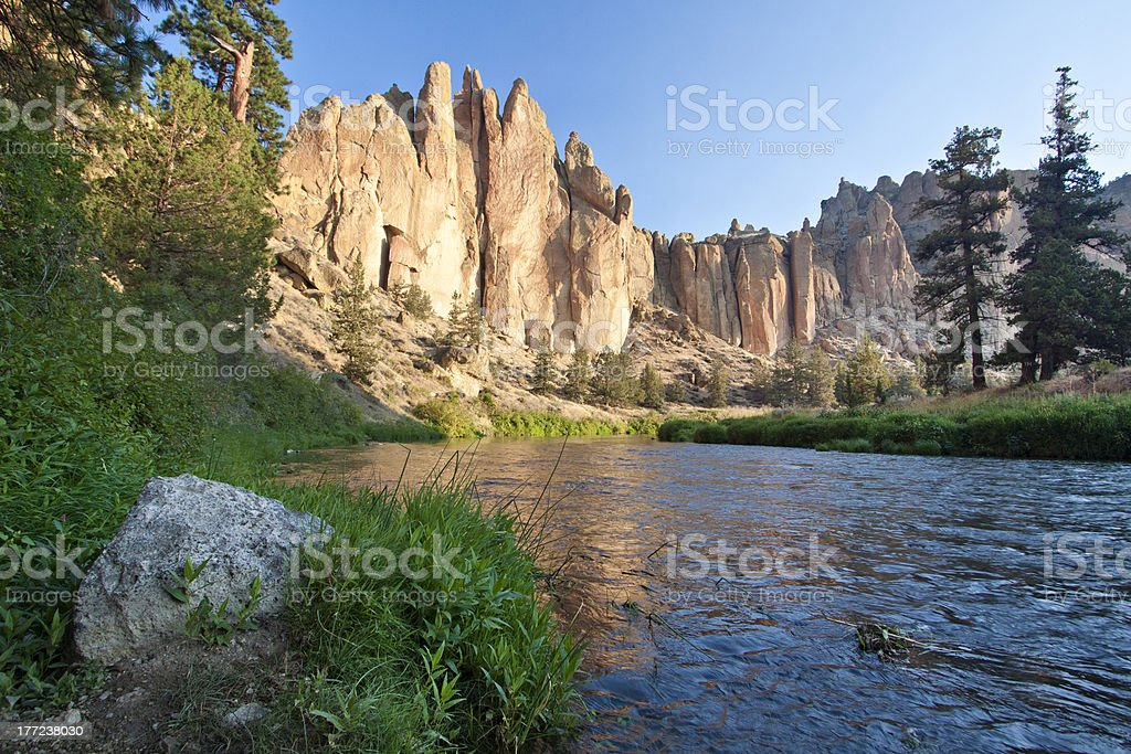 Smith Rock stock photo