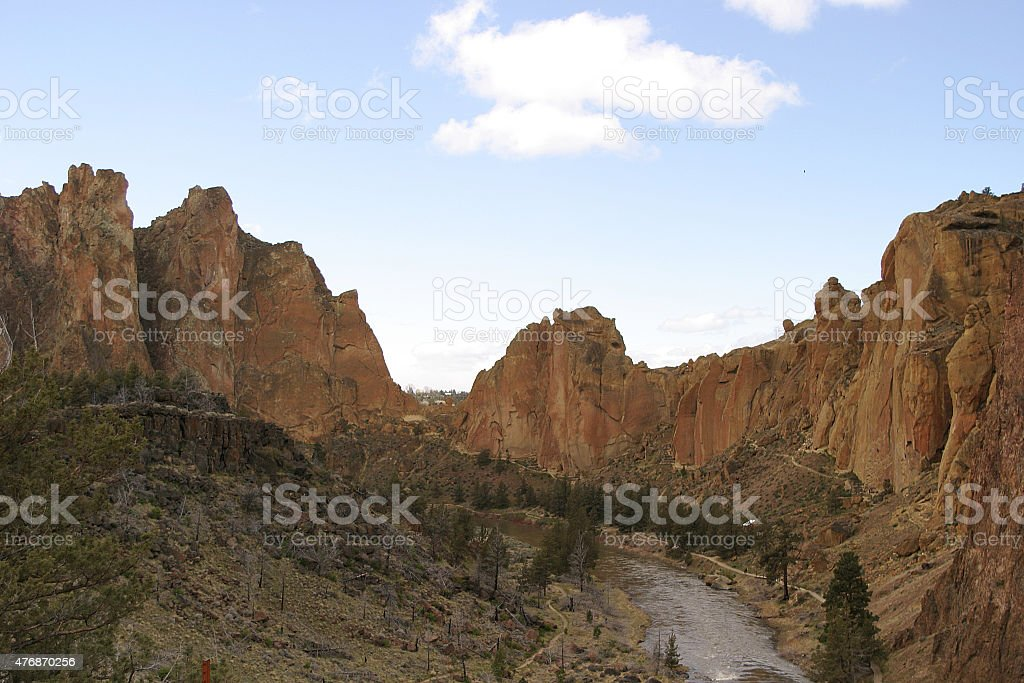Smith Rock State Park stock photo
