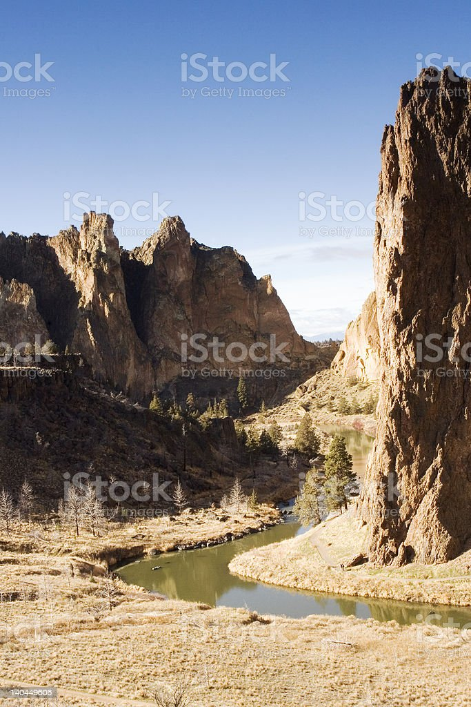 Smith Rocks royalty-free stock photo
