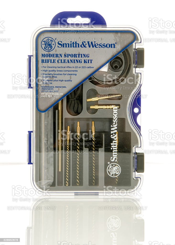 Smith & Wesson stock photo