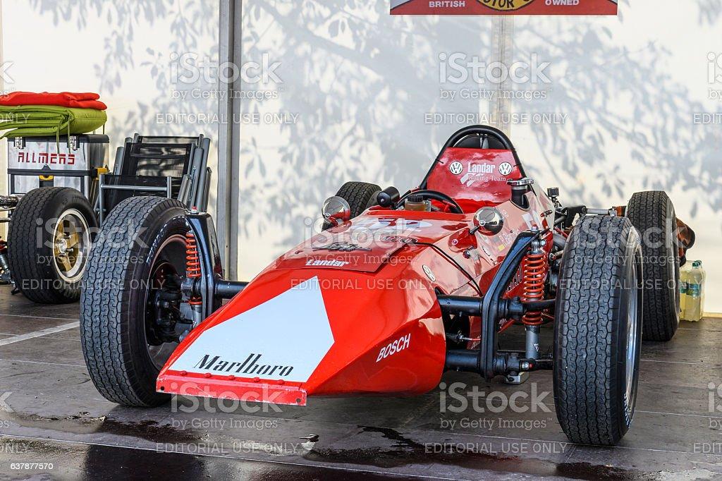 Smithfield Landar Formula V racing car stock photo