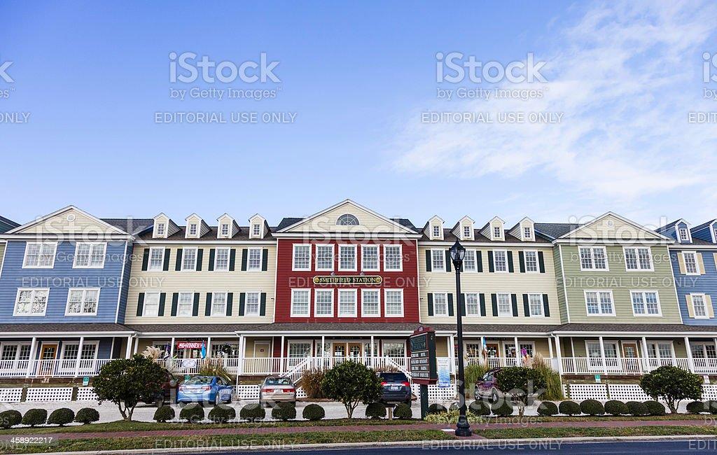 Smithfield Station, Virginia royalty-free stock photo