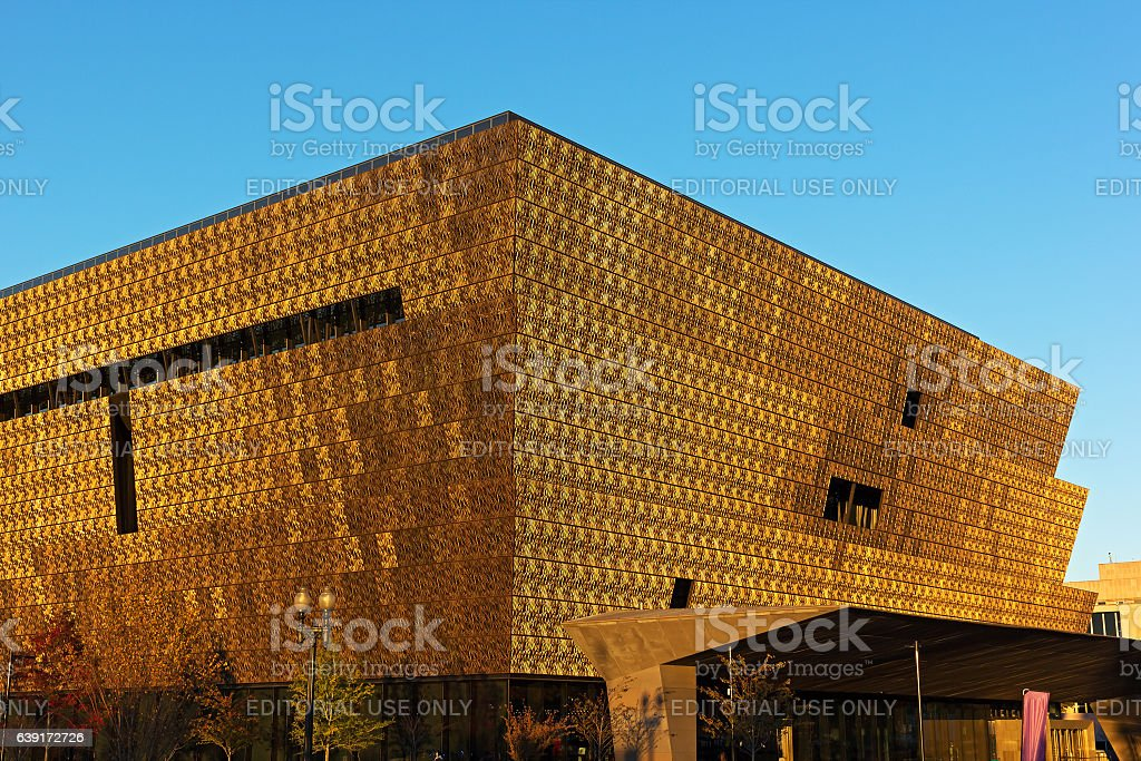 Smithonian National Museum of African American History and Culture stock photo