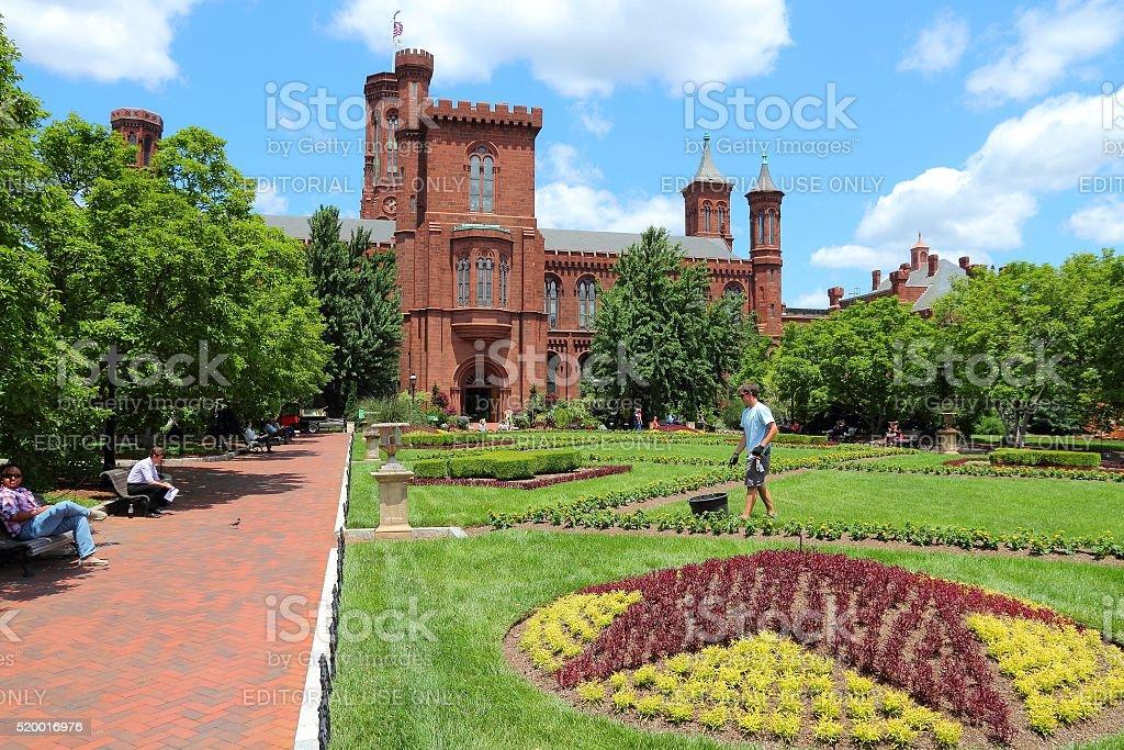 Smithsonian Institution stock photo