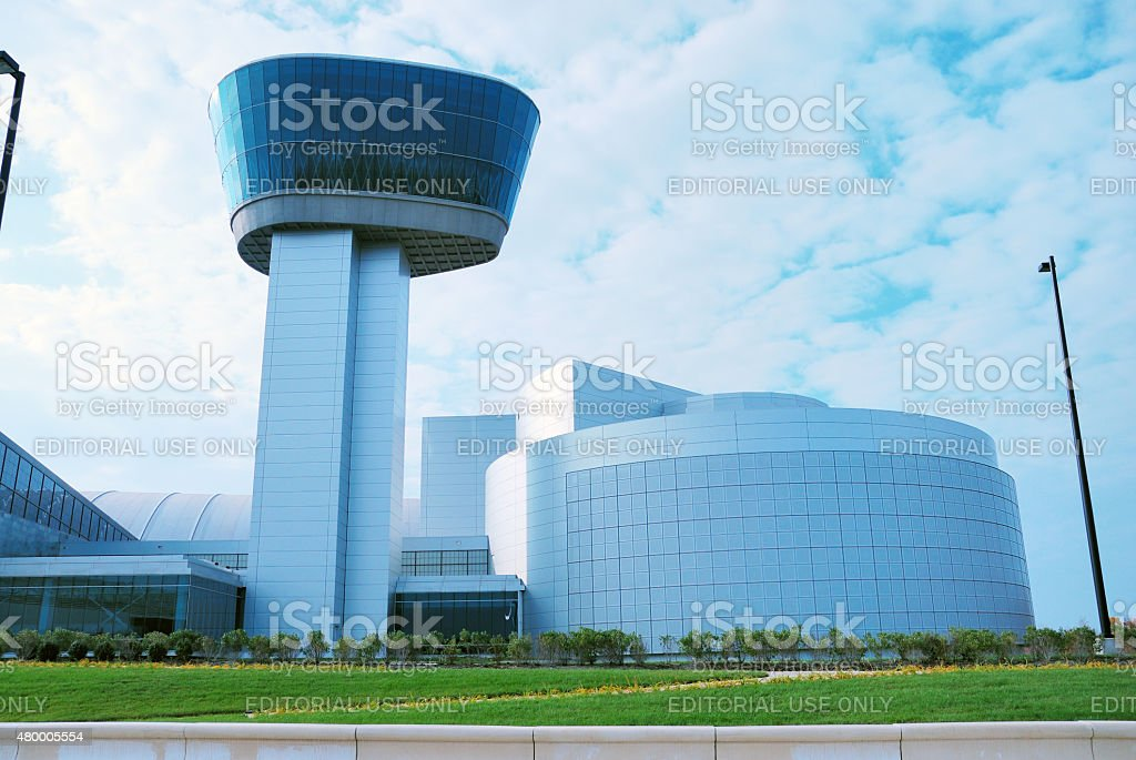 Smithsonian National Air and Space Museum (NASM)'s annex stock photo