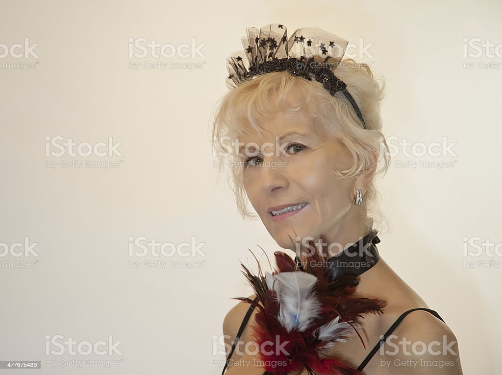 Smling French Maid royalty-free stock photo
