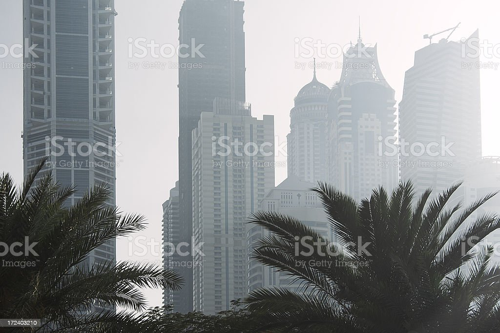 Smog. Environmental pollution royalty-free stock photo