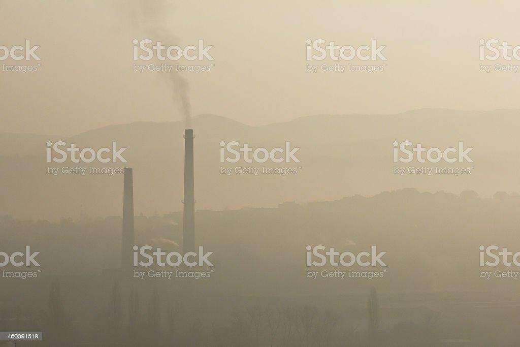 Smog royalty-free stock photo
