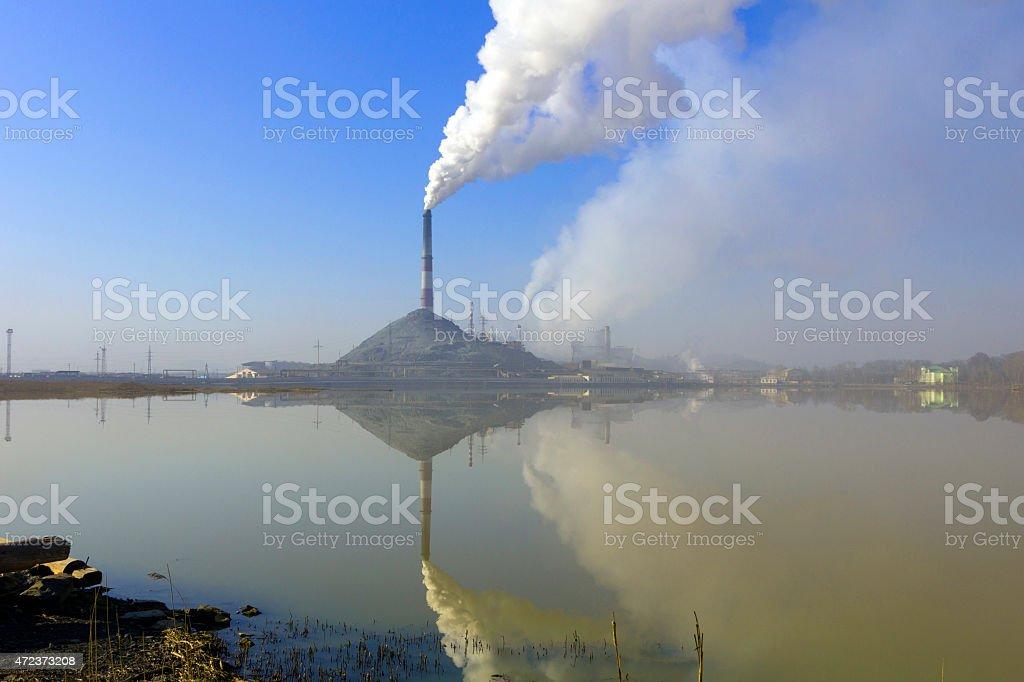 Smog stock photo