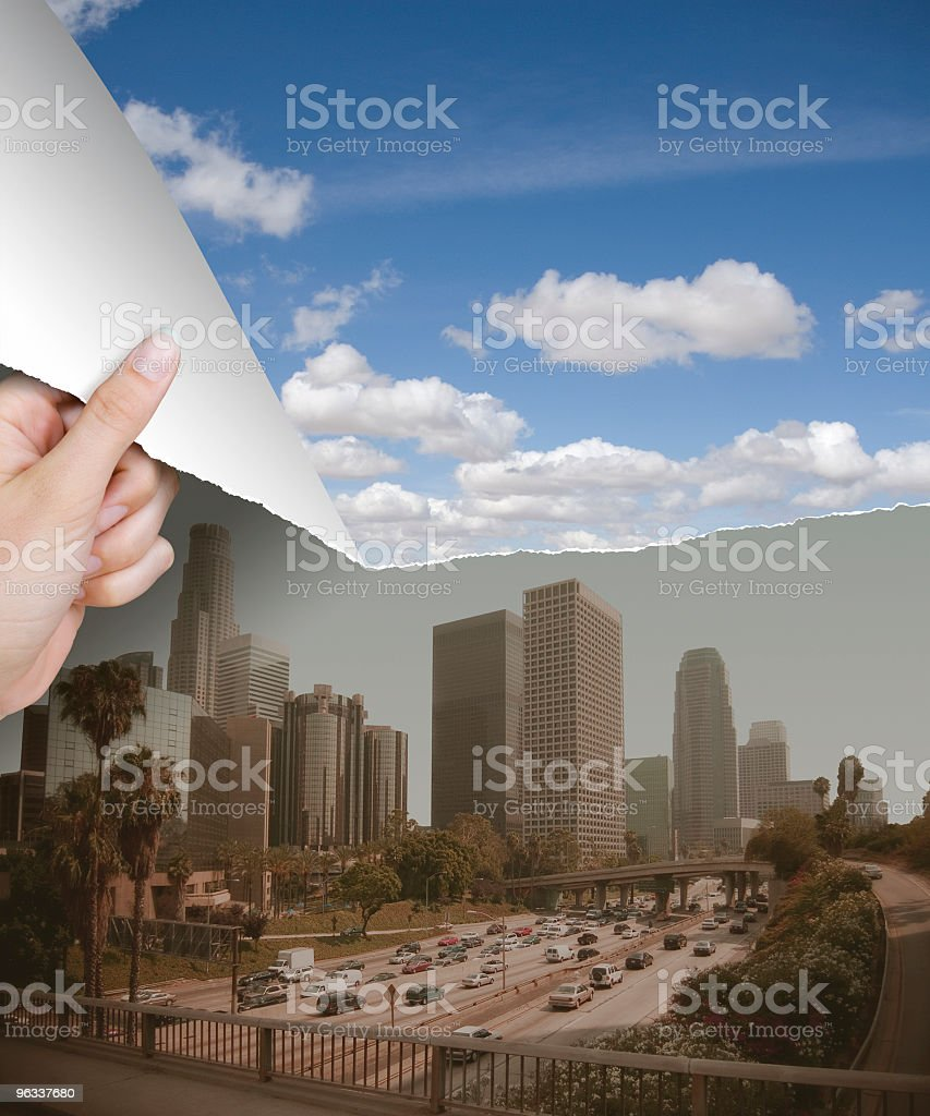 Smog Rip royalty-free stock photo