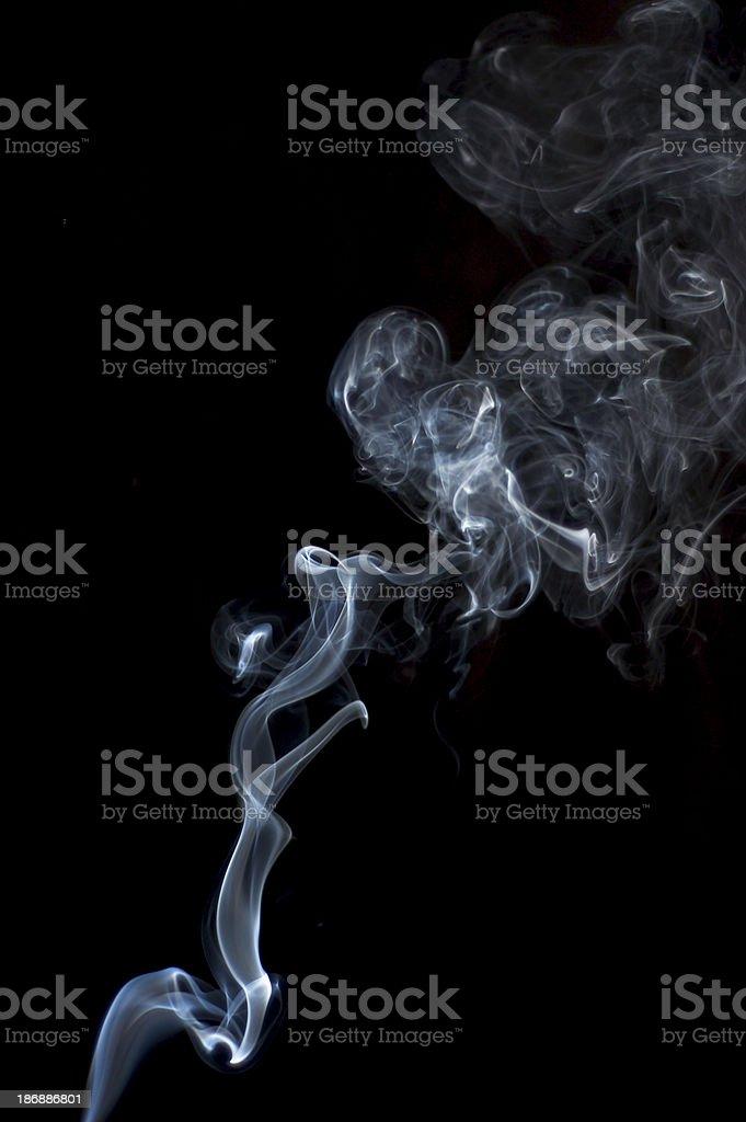 Smoke 3 royalty-free stock photo