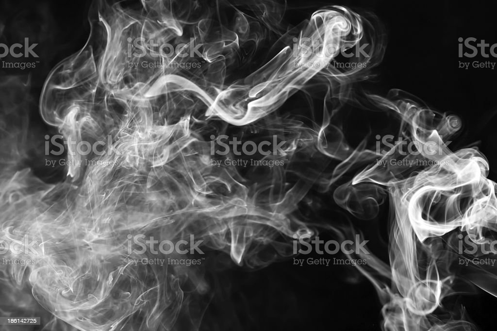 Smoke Abstract horizontal stock photo