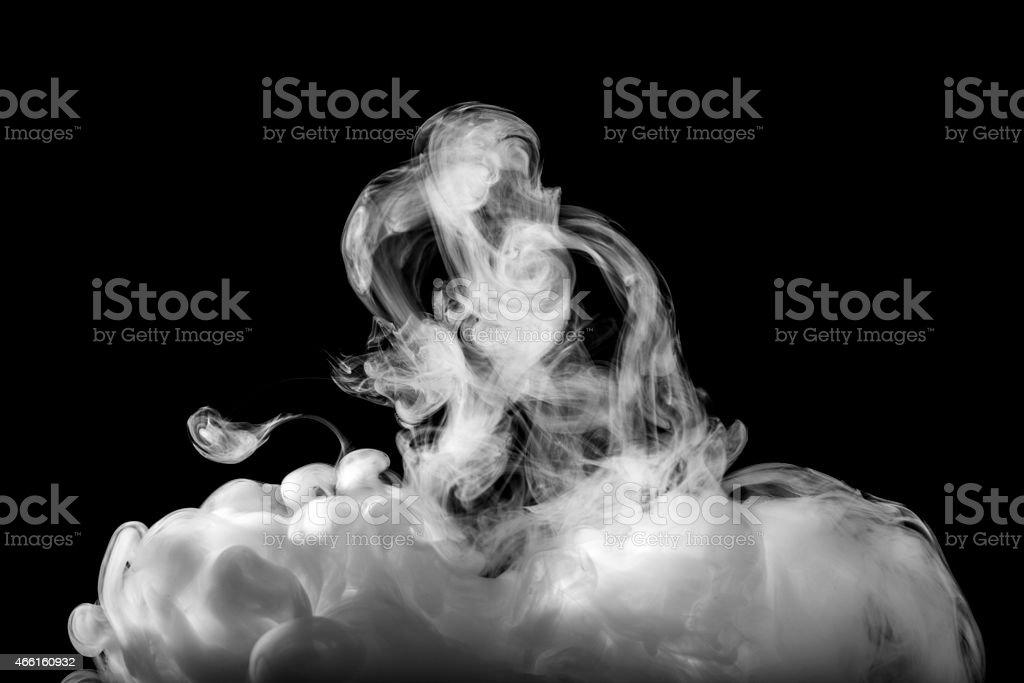 Smoke abstract stock photo