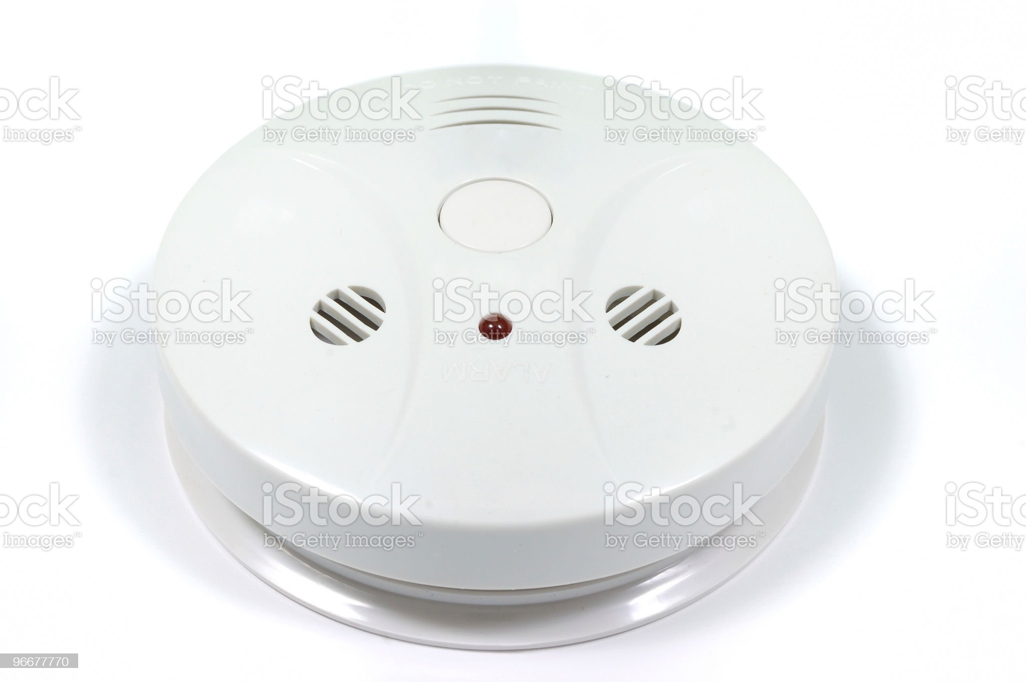 Smoke and fire detector royalty-free stock photo