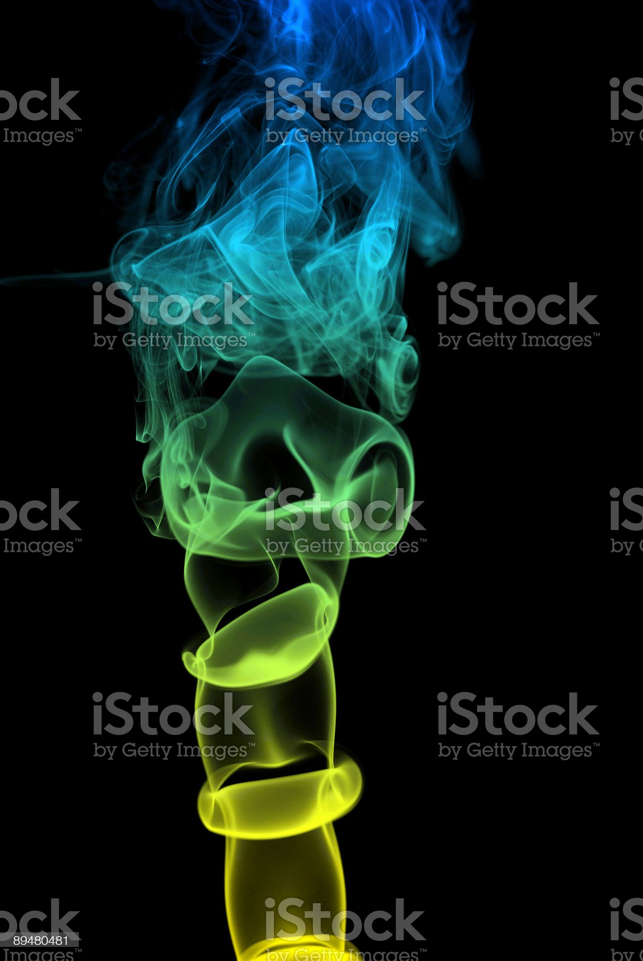 Smoke Art Series royalty-free stock photo