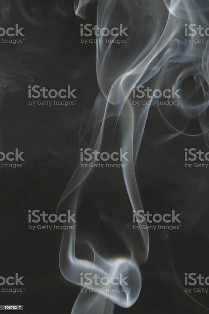 Smoke Chain Link Smoking stock photo