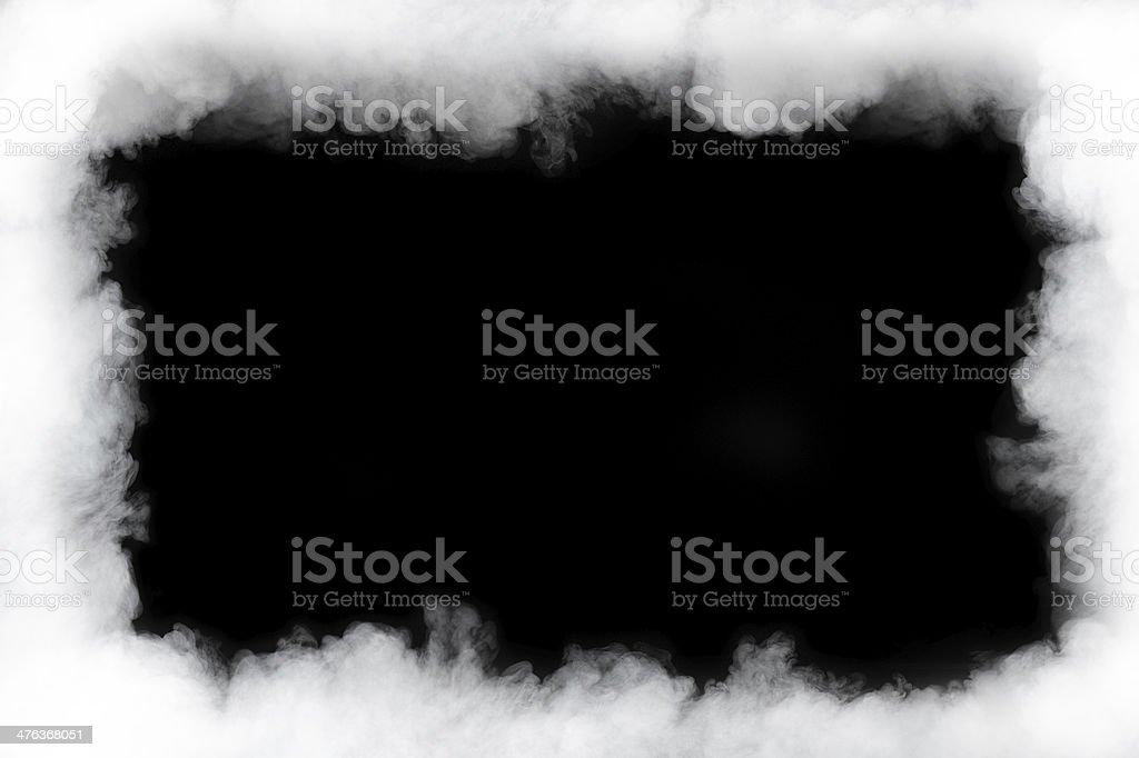 smoke cloud frame royalty-free stock photo