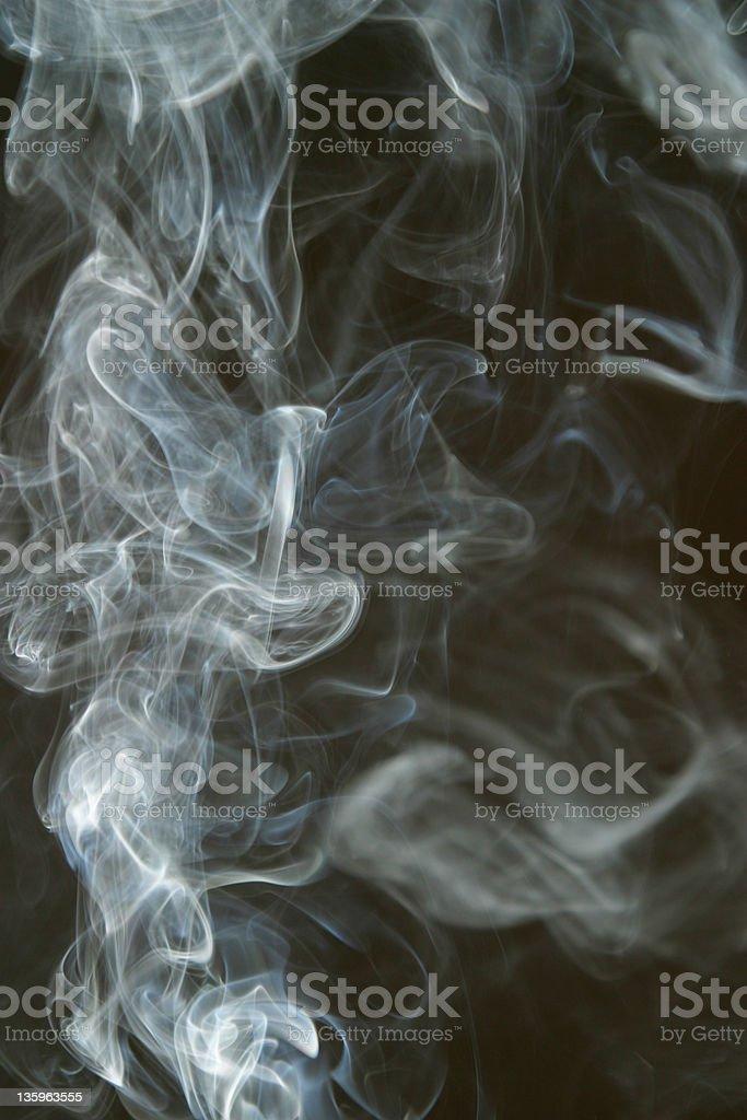 Smoke Cloud  Smoking 2 royalty-free stock photo