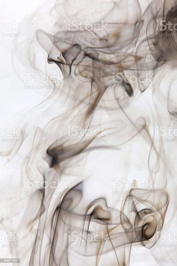 Smoke Cloud Smoking 28 royalty-free stock photo
