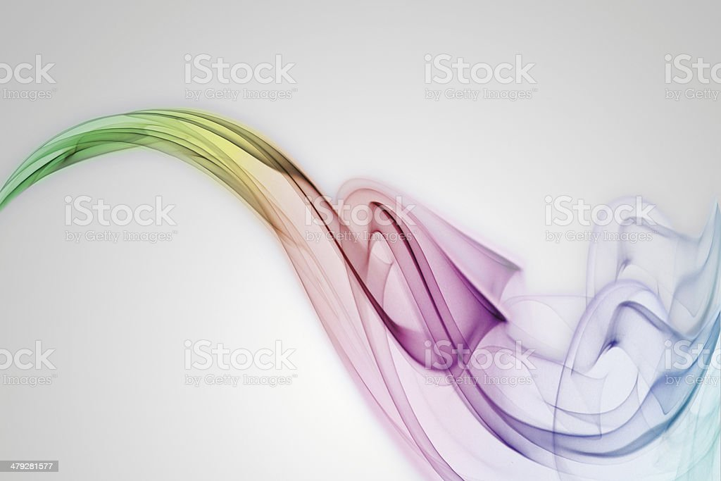 Humo colores stock photo