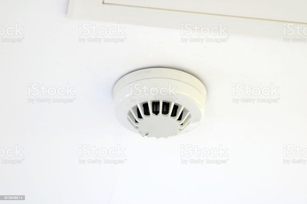Smoke detector stock photo