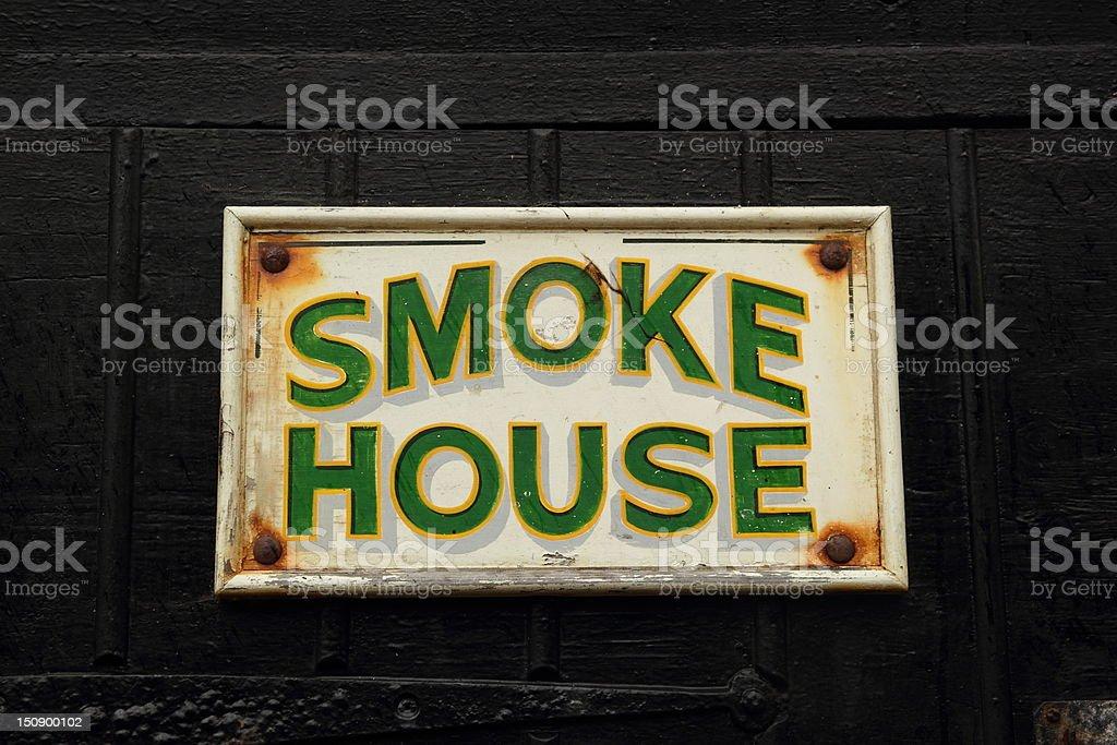 Smoke House royalty-free stock photo