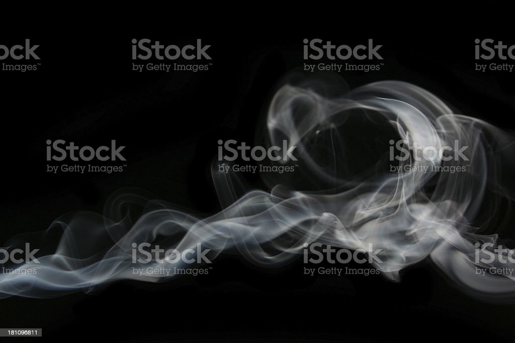 smoke line stock photo