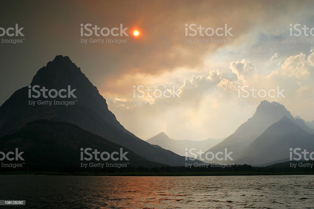 Smoke on the Water royalty-free stock photo