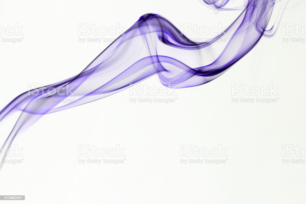 Smoke photography with white background royalty-free stock photo