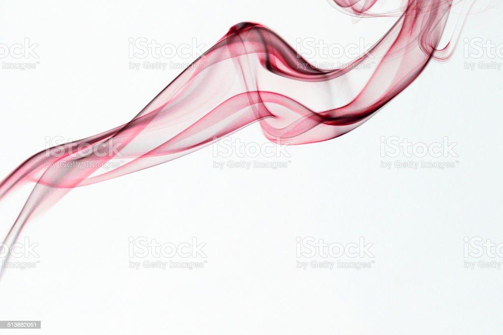 Smoke photography with white background royalty-free stock photo