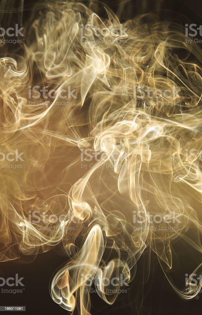 Smoke royalty-free stock photo
