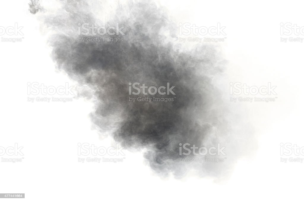 smoke stock photo