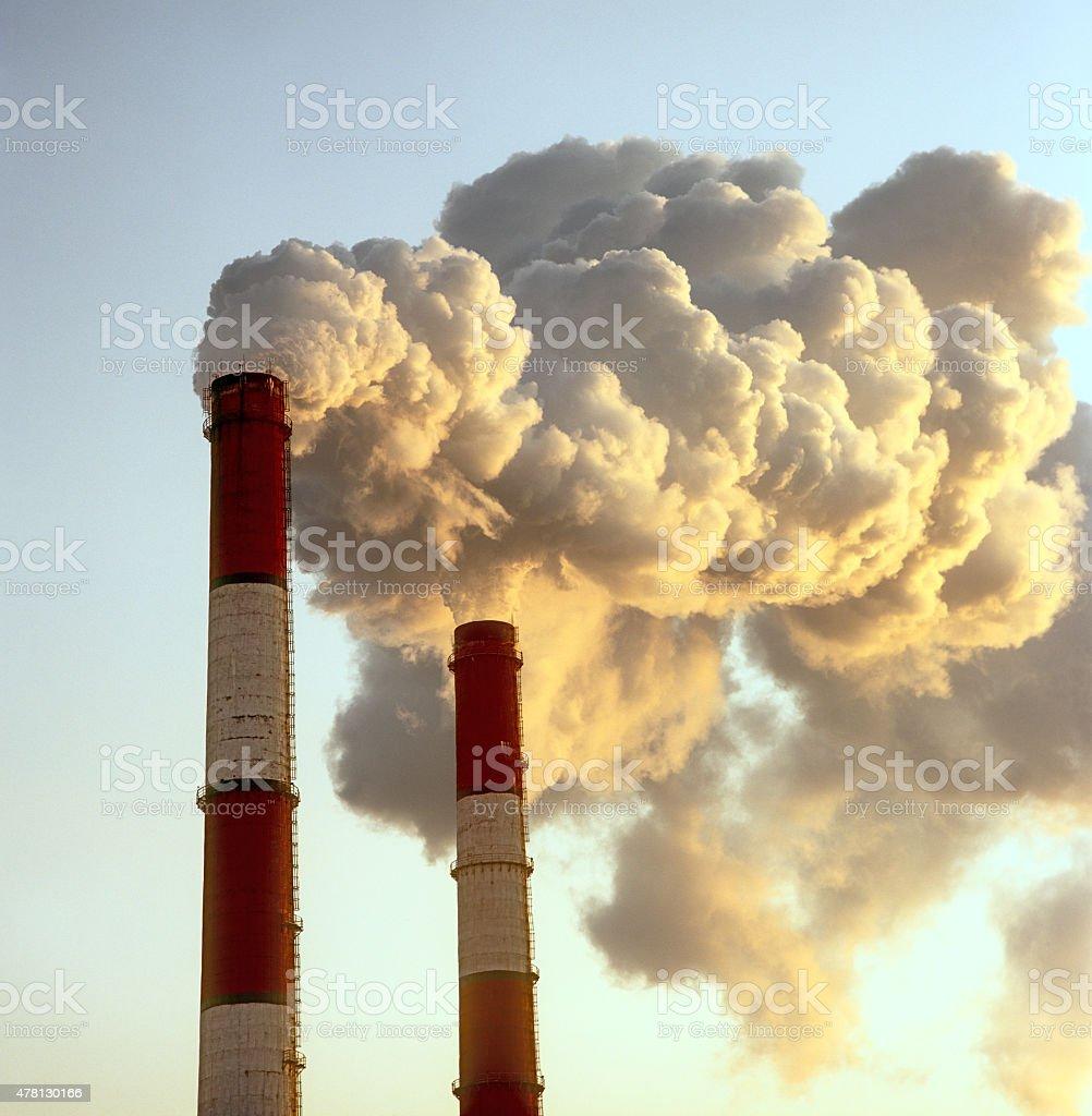 Smoke. stock photo