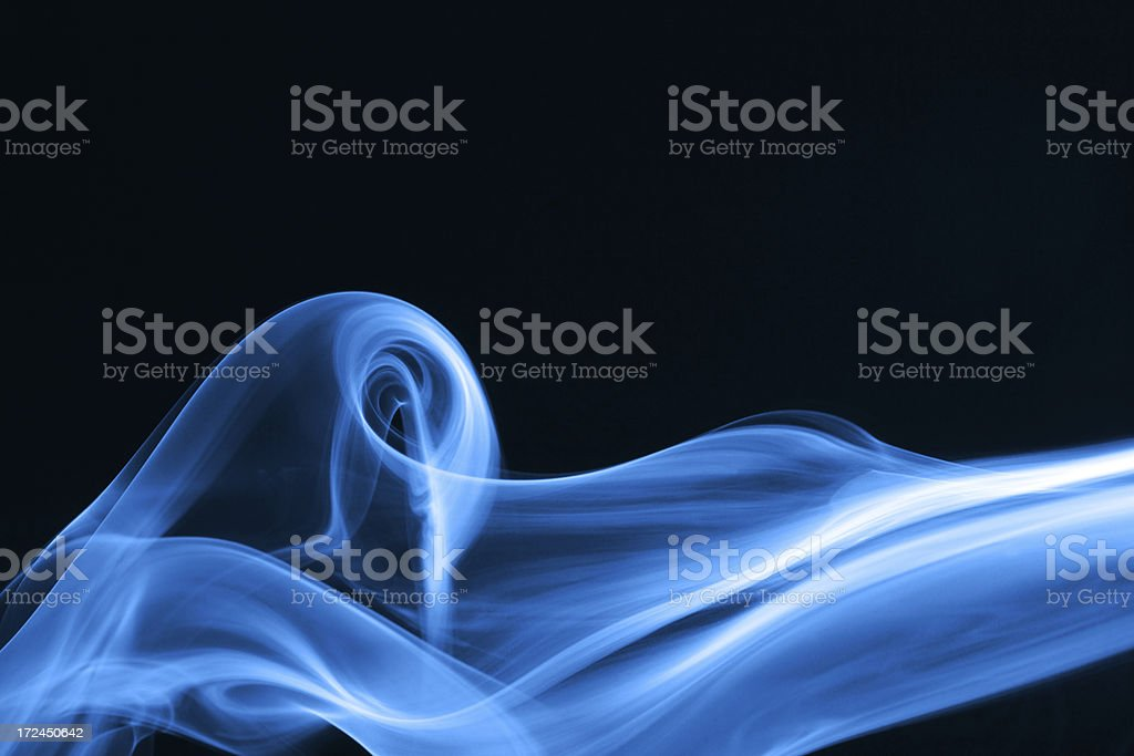 smoke shape royalty-free stock photo