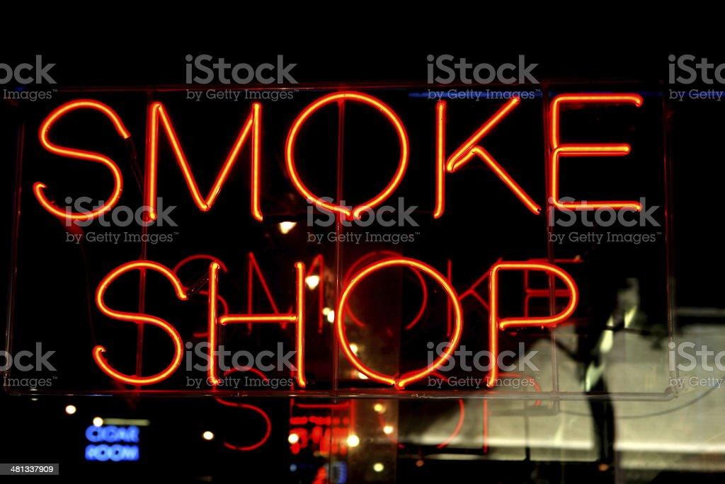 smoke shop royalty-free stock photo