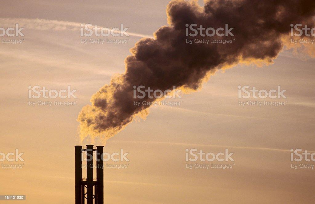 Smoke Stack stock photo