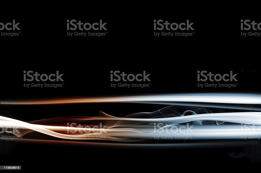 smoke streaks royalty-free stock photo