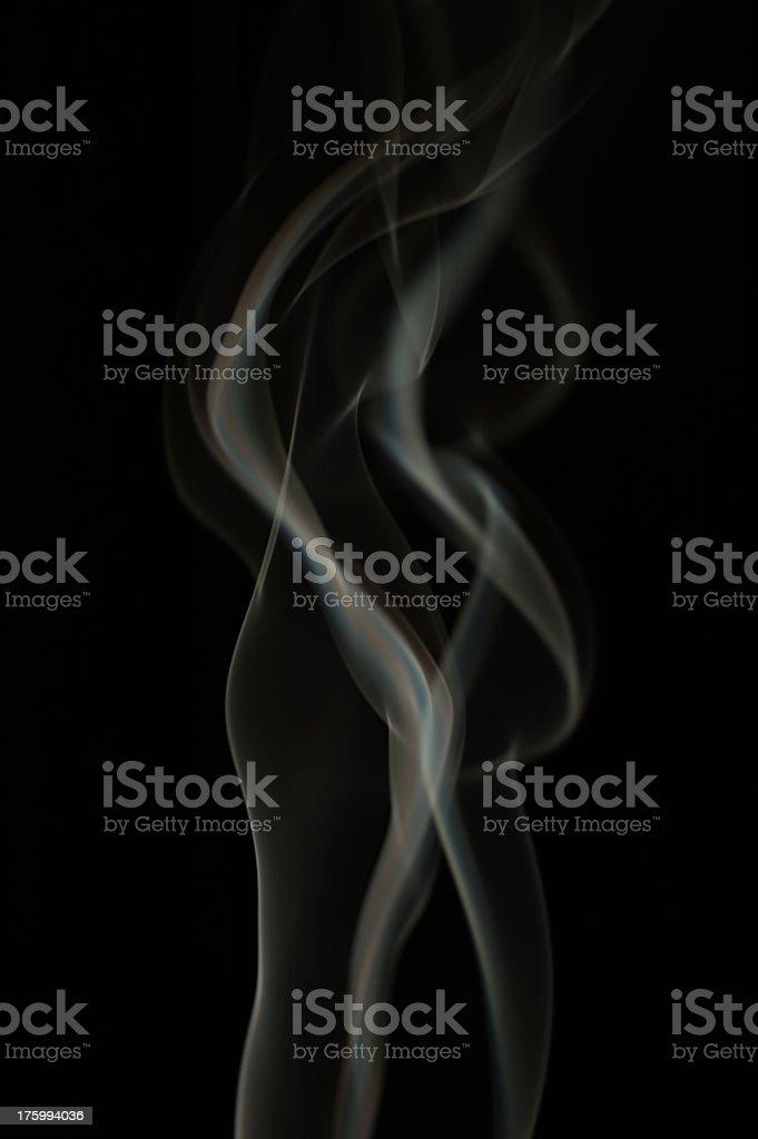 Smoke Swirls 3 stock photo