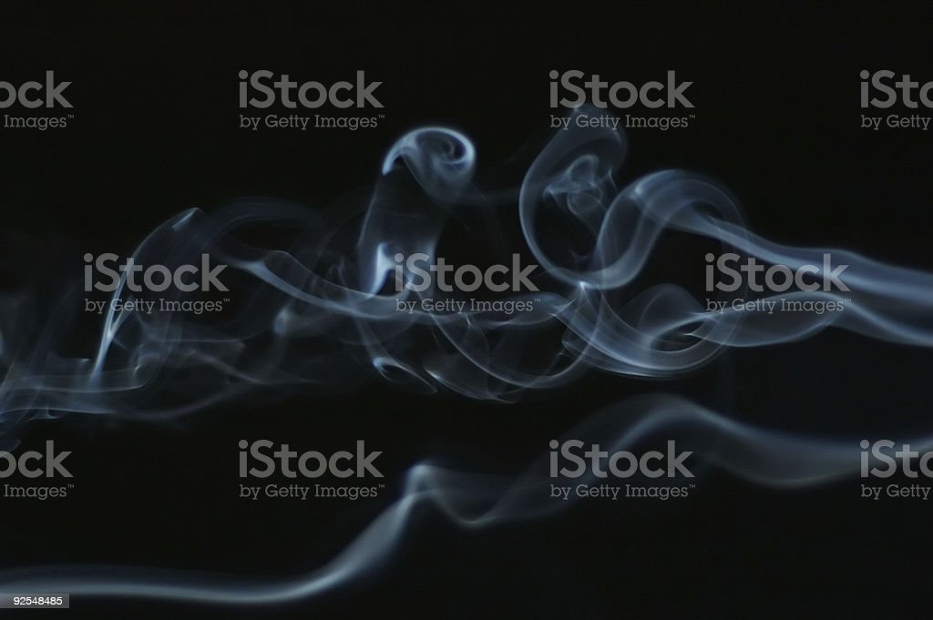 Smoke Swirls 8 royalty-free stock photo