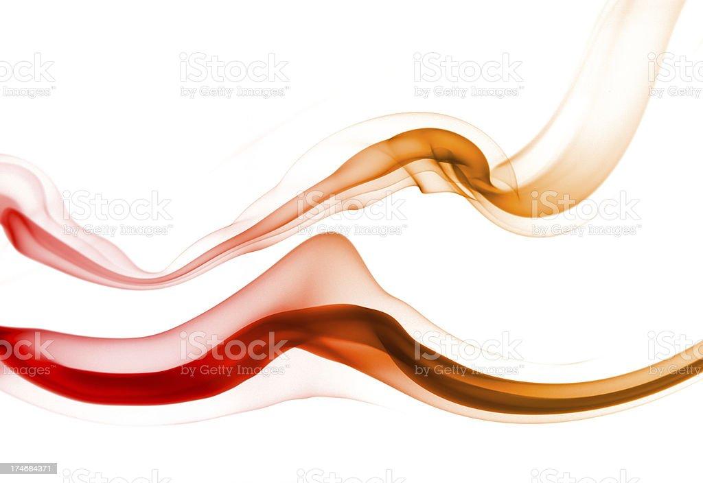 Smoke Waves royalty-free stock photo