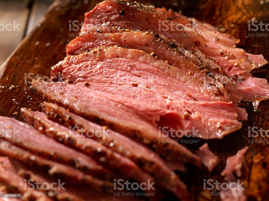 Smoked Meat stock photo