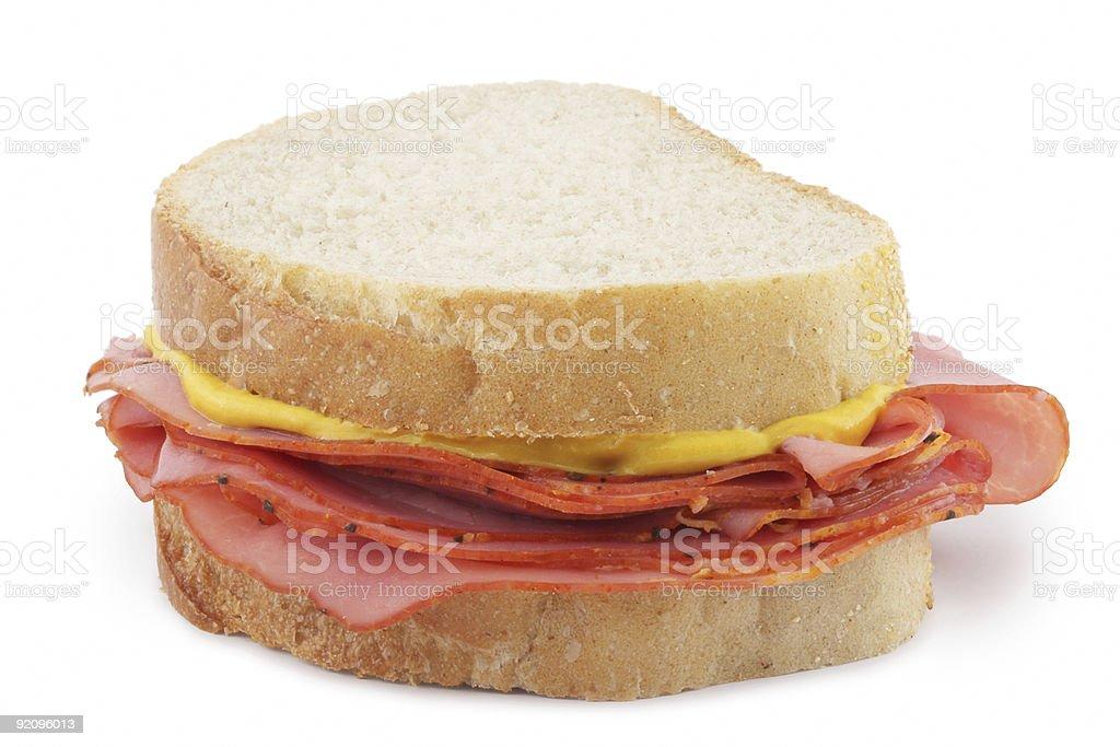 Smoked Meat Sandwich royalty-free stock photo
