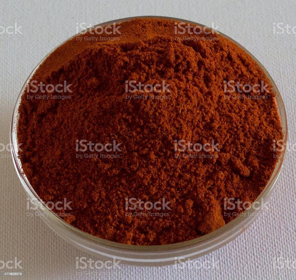 Smoked paprika stock photo