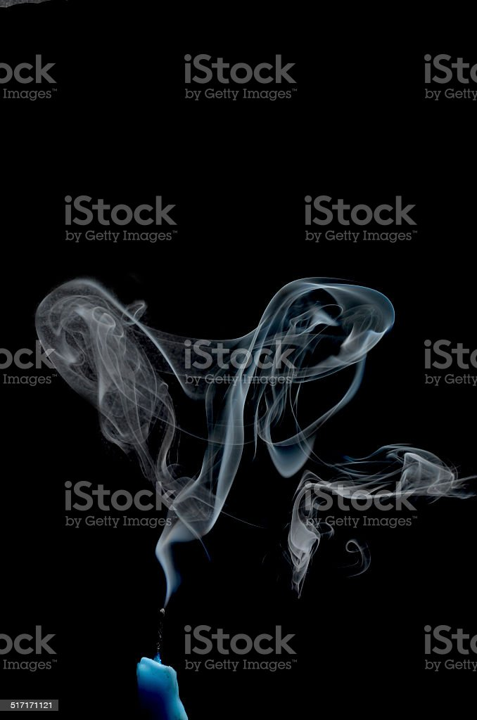 smoked stock photo