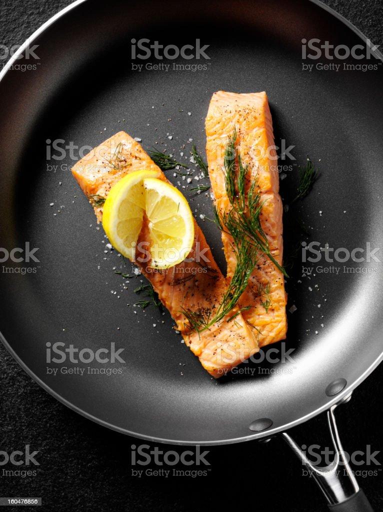 Smoked Salmon Fillets stock photo