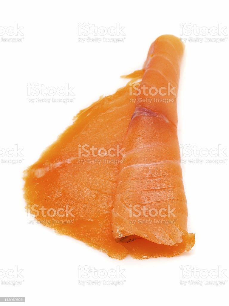 Smoked Salmon stock photo