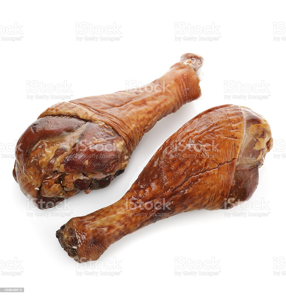 Smoked Turkey  Legs stock photo