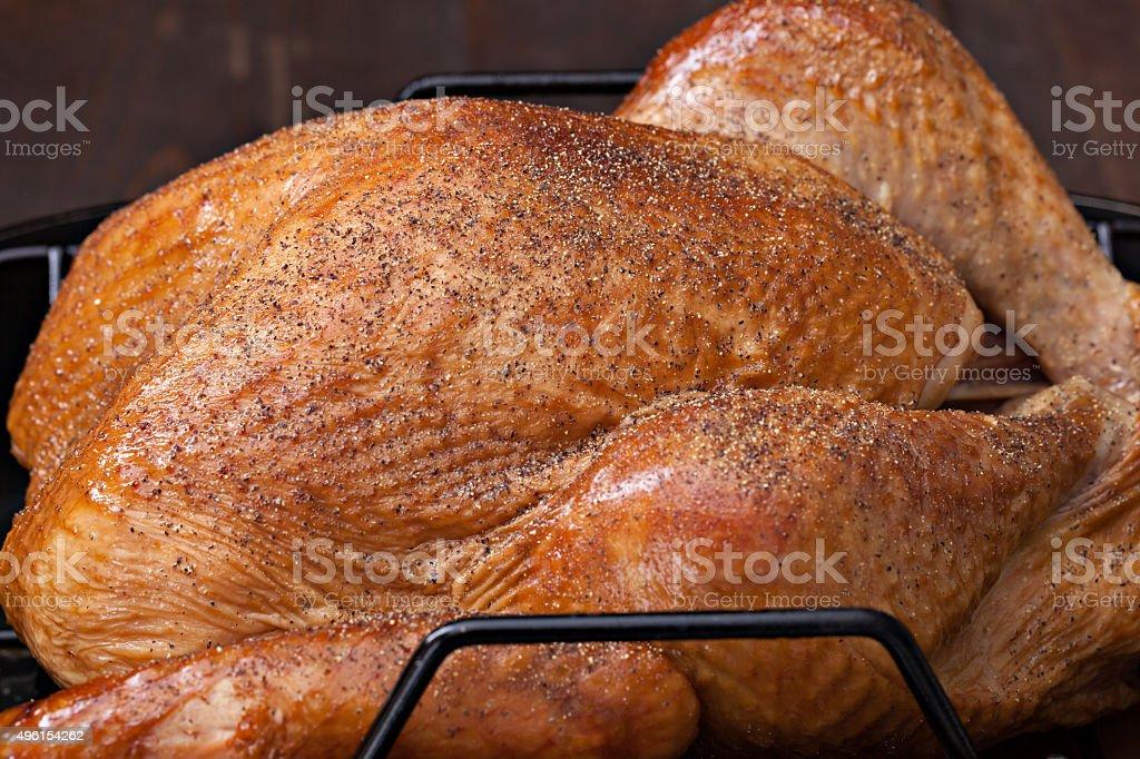 Smoked Turkey stock photo