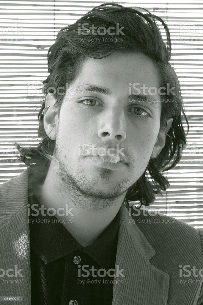 Smoker royalty-free stock photo