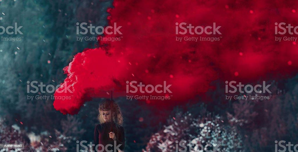 smokes and dreams stock photo